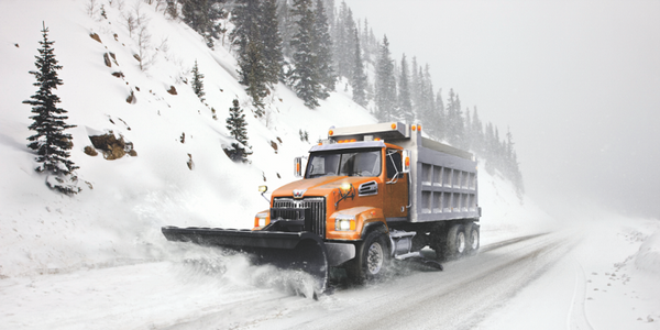 Western Star is offering an 18,000-pound front drive axle option for the 4700, suitable for snow...