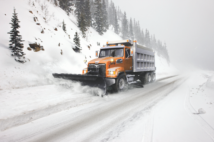 Western Star is offering an 18,000-pound front drive axle option for the 4700, suitable for snow plows.