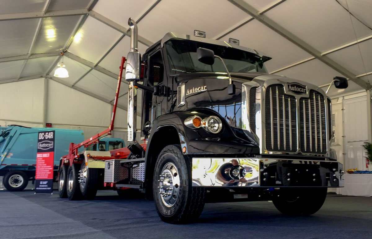 Autocar Rolls out New Conventional Truck Model