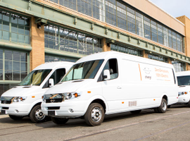 FedEx will deploy 1,000 Chanje electric delivery vans in California over the next two years.