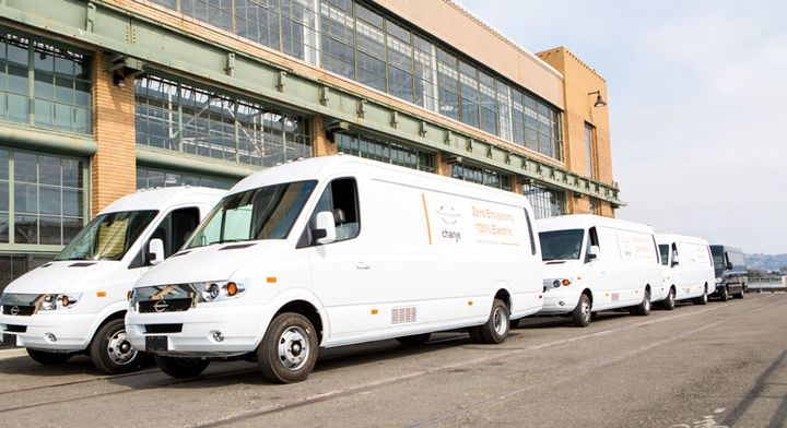 FedEx will deploy 1,000 Chanje electric delivery vans in California over the next two years.  - Photo courtesy FedEx