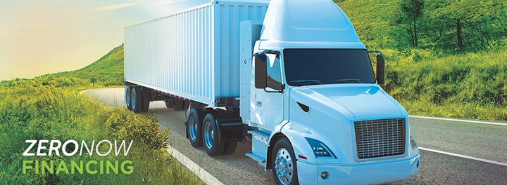 Clean Energy Fuels announced a new Zero Now Financing program to equalize the cost of a natural gas heavy-duty truck with a similarly equipped diesel truck.  - Photo courtesy Clean Energy Fuels