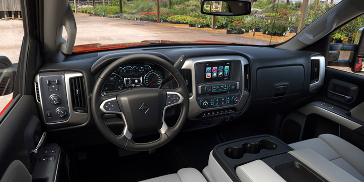 In the cab, multiple infotainment options are available, including an 8-inch color touch screen with navigation and, for the first time in an International truck, Apple CarPlay and Android Auto.  - Photo courtesy International Trucks