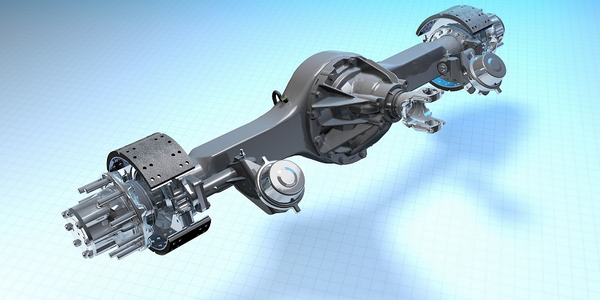 Dana Spicer's S140 single-reduction, single-drive axles are now standard on Kenworth T270 and...