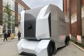 Michelin to Deploy Einride Electric Autonomous Truck