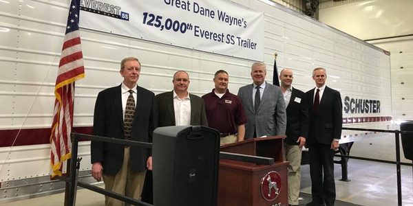 The Great Dane manufacturing facility in Wayne, Nebraska hit a new milestone, producing its...