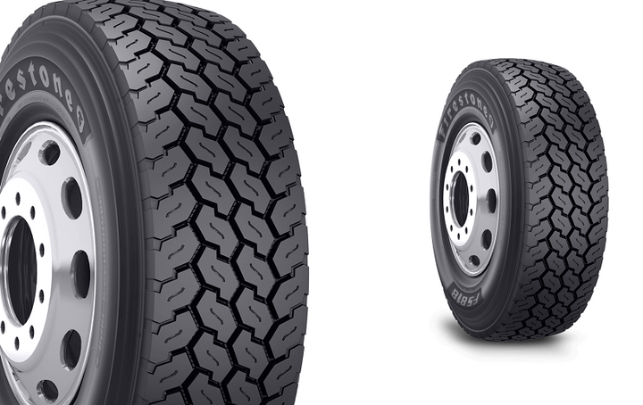 Bridgestone has recalled certain all position, wide base radial commercial truck tires in size 425/65R22.5 including the Firestone FS818 tire (pictured).