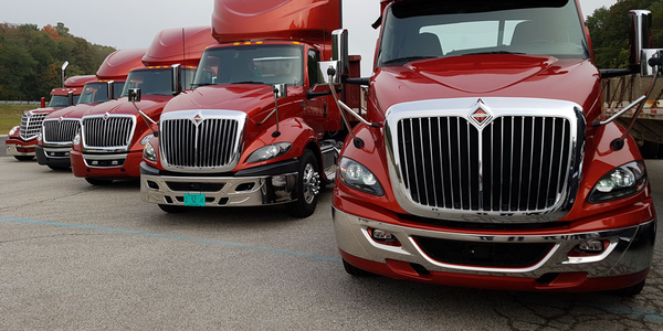 Navistar International reported increased income and market shares in its year-end financial...
