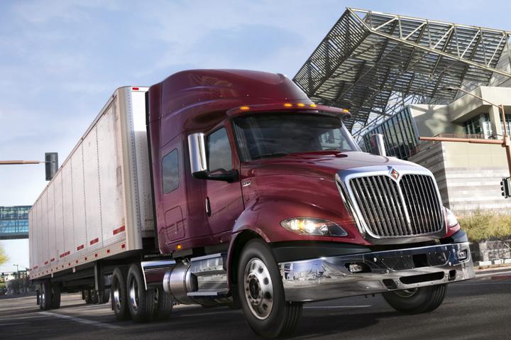 International Trucksis now offering the Bendix Wingman Fusion standard across its entire lineup of on-highway tractors, including the International LoneStar, LT Series, and RH Series trucks.  - Photo via International Trucks
