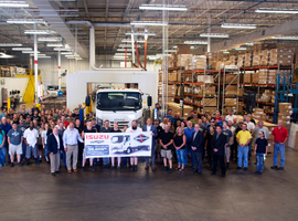 The 50,000th Isuzu N-Series rolled off the assembly line in Michigan on Aug 1.