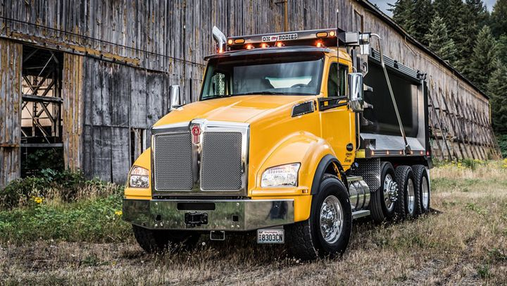 The new electronic brain gives vocational trucks more PTO functionality.  - Photo courtesy Kenworth