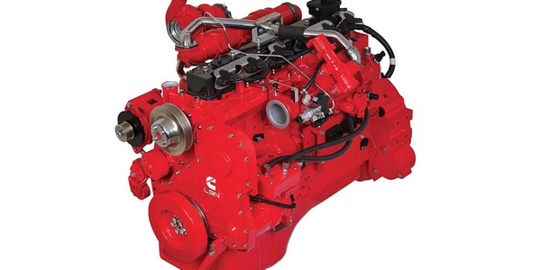 The Cummins Westport L9N Near Zero Natural Gas Engine is available as an option on the Kenworth...