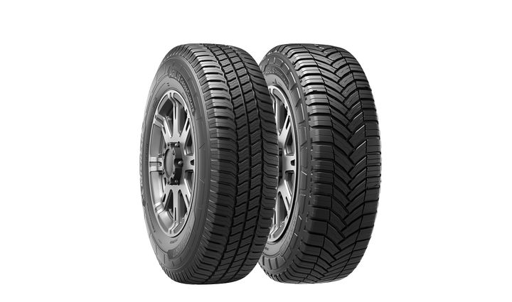 The Agilis CrossClimate tire is designed for fleets and businesses operating light commercial trucks and vans for use in last-mile delivery and urban or suburban commercial uses.  - Photo courtesy Michelin