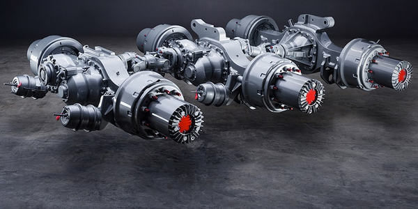 Meritor has announced its P600 planetary axles are available with optional 5-planet wheel-ends...