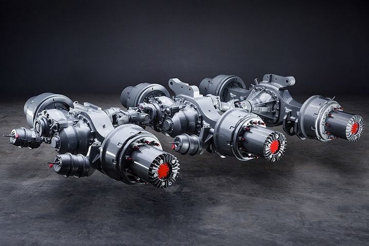 Meritor has announced its P600 planetary axles are available with optional 5-planet wheel-ends and can now be configured for use with central tire inflation systems.