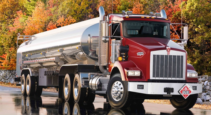 Certain 2016-19 Kenworth trucks, including the T800 (pictured), have been recalled for an improperly connected check engine light.