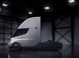 Electric commercial vehilces, like Tesla's upcoming electric Semi, could see significant...