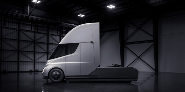 Electric commercial vehicles, like Tesla's upcoming electric Semi, could see significant...
