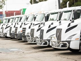 Port Trucking Company Replaces Diesel with Natural Gas Trucks