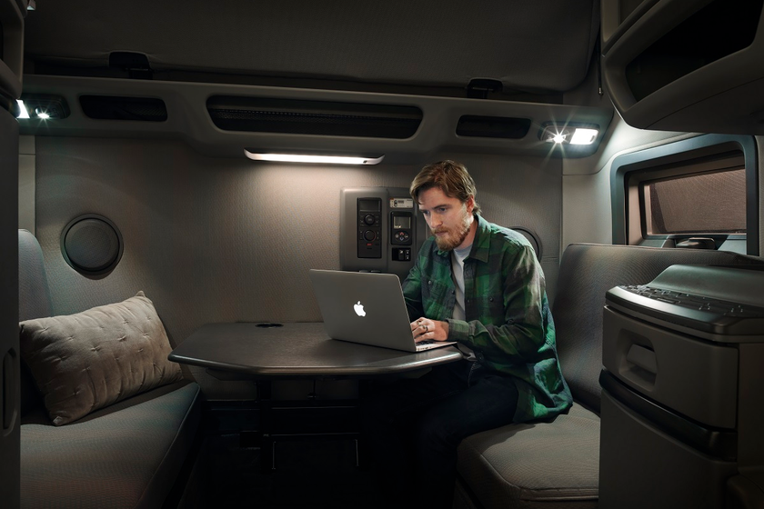 Driving a truck can be a lonely, stressful job. But no driver has to be completely isolated in...