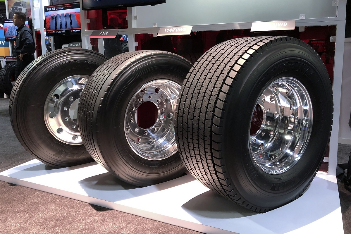 Yokohama Adds High-Mile, SmartWay Drive, Trailer Tires