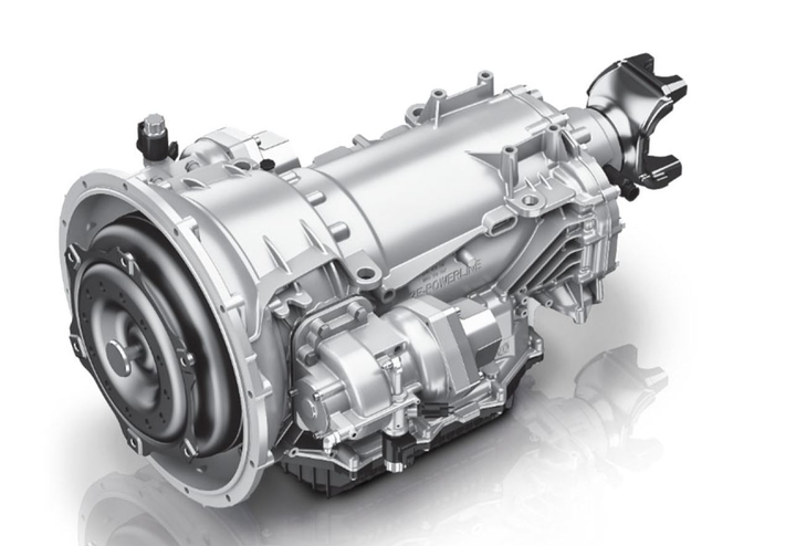 The PowerLine 8 transmission from ZF is new to North America but more than 15 million copies are currently running all over Europe and Asia.