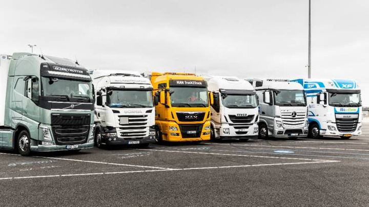 European truck makers question whether infrastructure will be in place to fuel or charge the alternatively powered trucks that may need to be built to meet the CO2 limits.