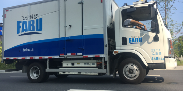 During a testing period late last year, autonomous trucks operated by Fabu technology...