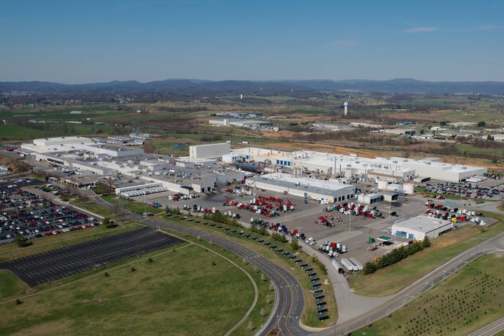 Volvo Trucks' New River Valley Facility - Photo courtesy of Volvo.