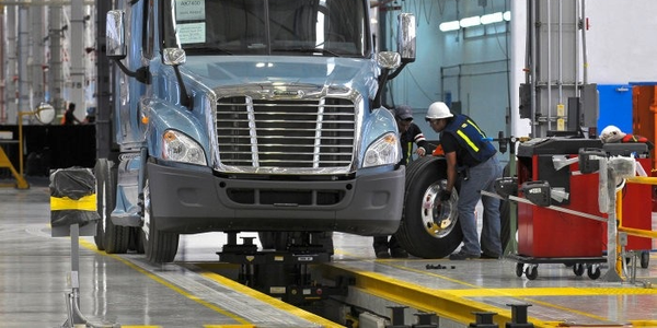 Truck manufacturers like Daimler Trucks operate manufacturing plants in Mexico that could...