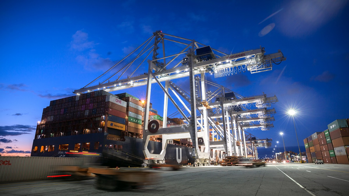 The $3 billion plan would increase the amount of cargo moved through the port and create a new rail connection between the St. Louis region and the Georgia sea port to help improve the movement of goods to the Midwest.