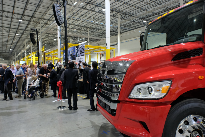 Hino Touts 100 Million Manufacturing Facility Equipment