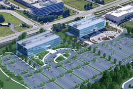 Hub Group Breaks Ground on Second Building at Headquarters