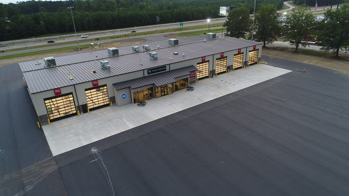 The Kenly 95 Petro truckstop in Kenly, North Carolina, has opened a new 26,000 square-foot six-bay TA Service Center.  - Photo courtesy Kenly 95 Petro