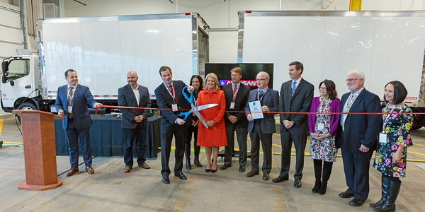 Morgan Truck Body opened a new manufacturing facility in Plainfield, Connecticut on Nov. 14, and...