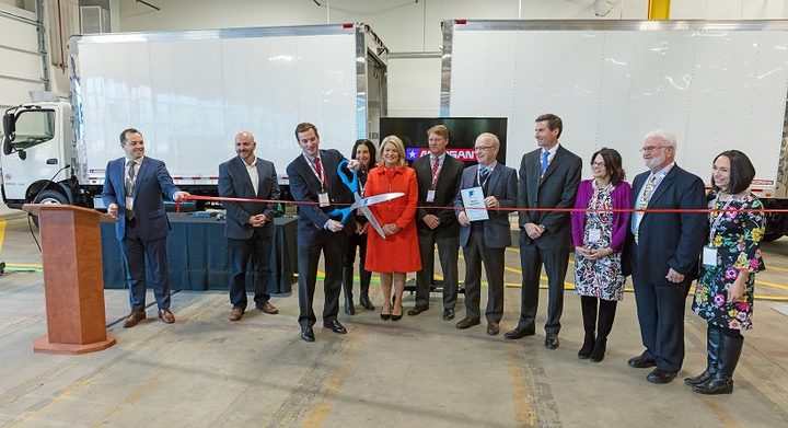 Morgan Truck Body opened a new manufacturing facility in Plainfield, Connecticut on Nov. 14, and celebrated the grand opening with state and local officials. 