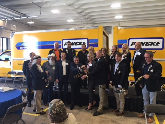 Penske Truck Leasing opened a new facility in Ogden, Utah as the company expands its presence in the western region.  - Photo via Penske blog