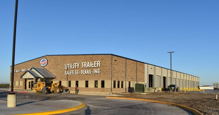 The 51,000 square-foot parts warehouse and a 20-bay facility is also a full-service facility, offering new and used trailers, parts & service.