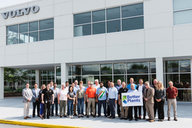 Volvo's Maryland Facility Highlighted by DOE for Efficiency