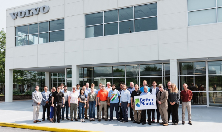 Volvo Group North America's Hagerstown, Maryland powertrain facility recently hosted a tour as part of the U.S. Department of Energy's Better Buildings, Better Plants 2019 Summit.