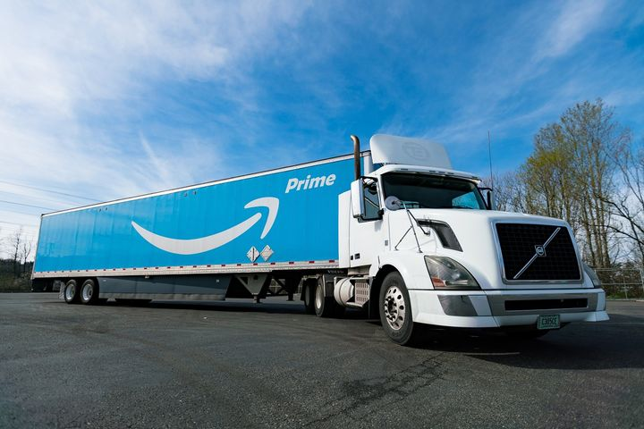 Amazon's online retail dominance is having a significant impact on parcel carriers, less-than-truckload carriers and the third-party logistics market.  - Photo via Amazon