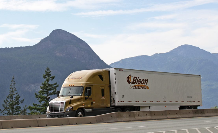 Canadian carrier Bison Transport has acquired all of the assets of the container on flat car intermodal operations of Celadon Group.
