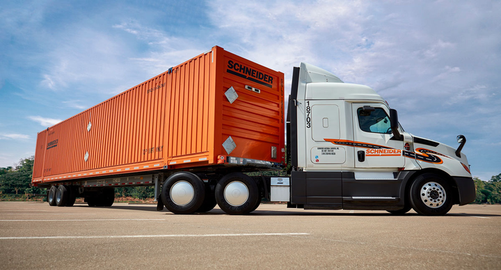Schneider has started offering intermodal services at the CSX Indianapolis ramp.