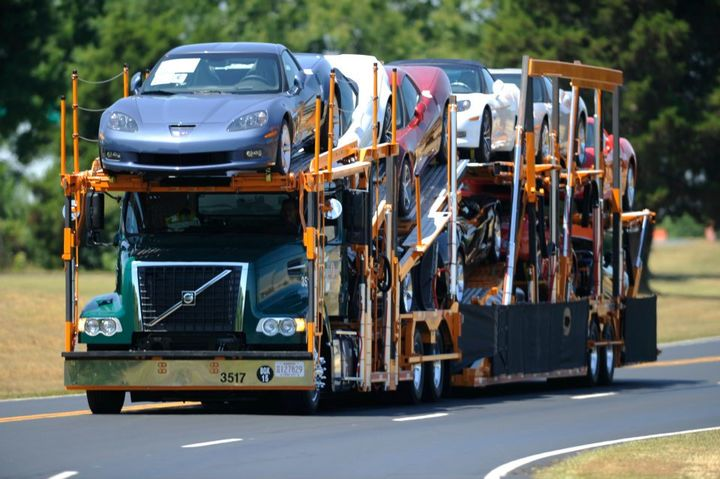 Car Hauler Jack Cooper Ventures has filed for chapter 11 bankruptcy citing difficulty competing with its mostly non-unionized competition.  - Photo via Jack Cooper Transport Facebook