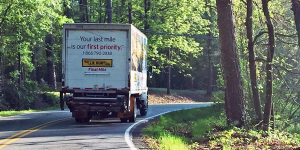 J.B. Hunt's Final Mile Services saw an increase in revenue of $26 million compared to first...