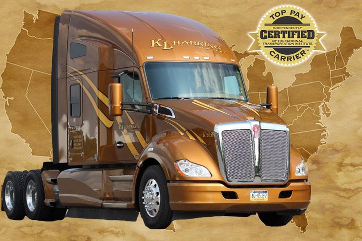 K.L. Harring has upped its base team driver pay to 70 cents per mile.