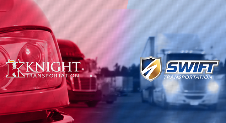 Knight-Swift Transportaiton has come to a settlement agreement in a decade-long class action lawsuit involving roughly 20,000 drivers who allege that the company improperly classified them as independent contractors.  - Screenshot via Knight-Swift.com