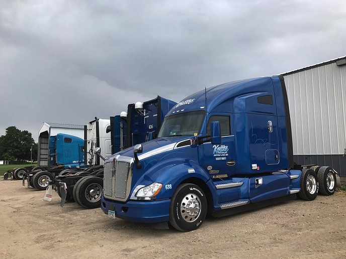 For the second time in six months, Kottke Trucking has increased pay for all company drivers.