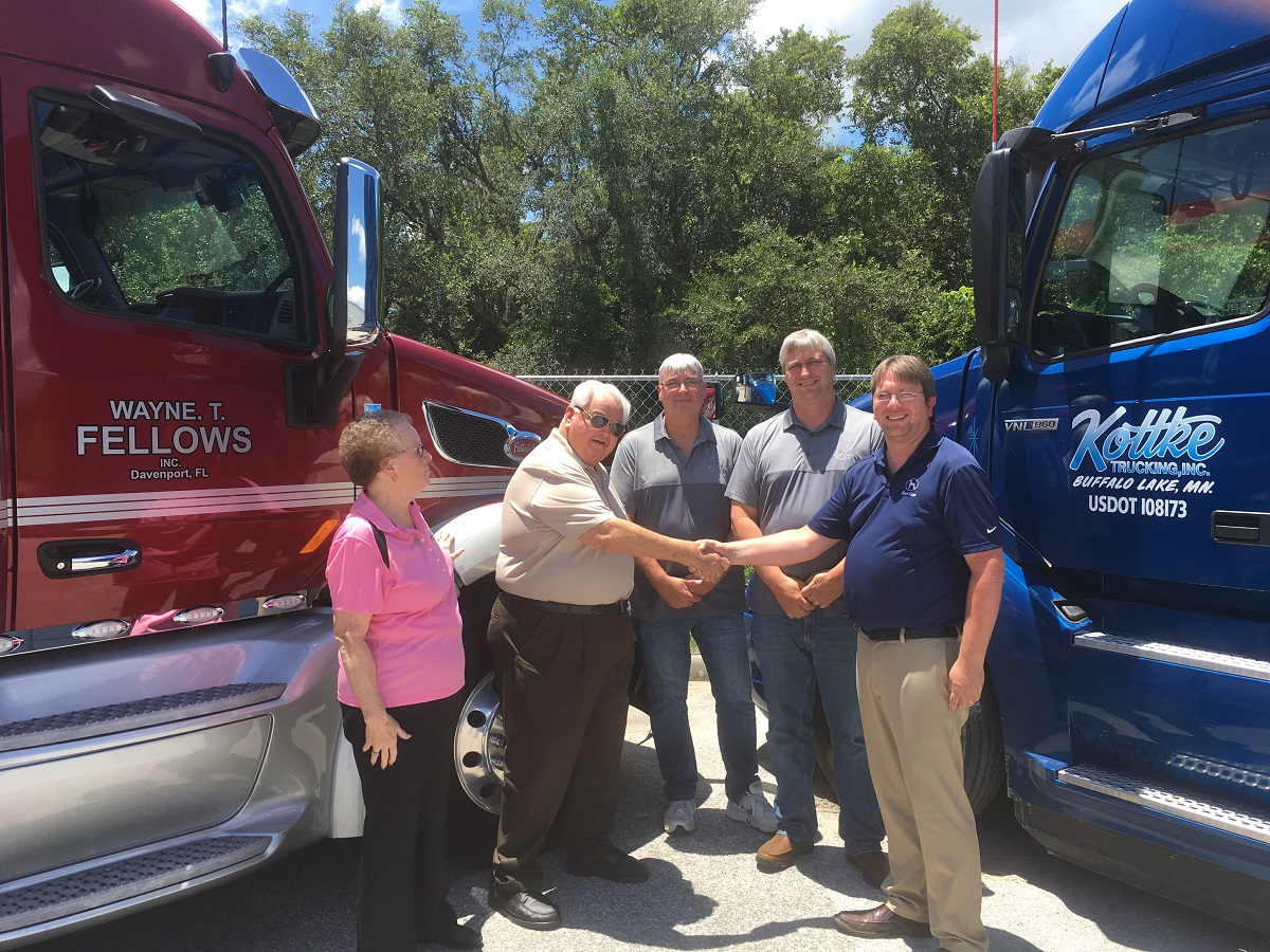 Kottke Trucking Acquires Florida-Based Wayne T. Fellows