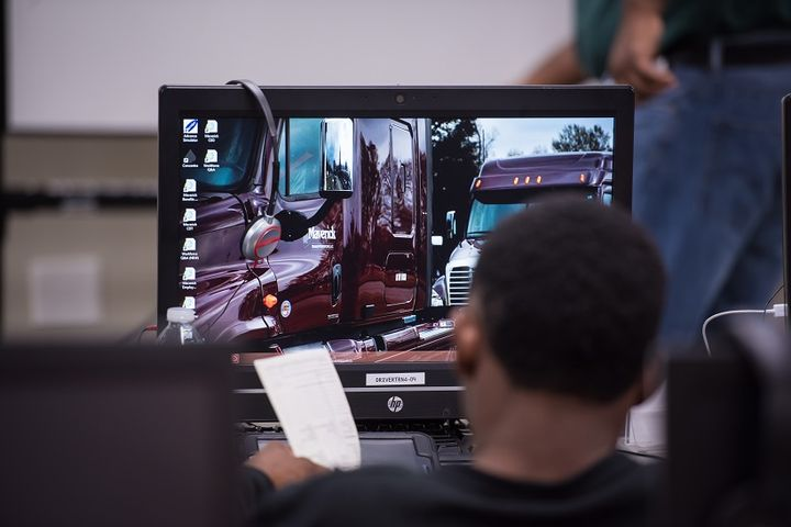 Maverick Transportation's new driving school will offer driversnecessary CDL education and training.  - Photo courtesy Maverick Transportation